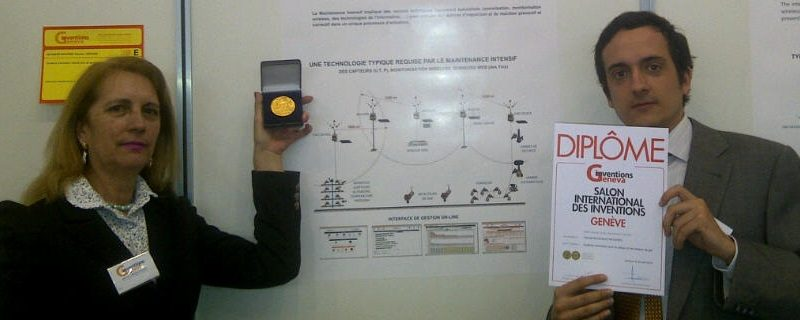 SmartWatchWeb is awarded 3 Gold Medals in Salon of Invention (Geneva)